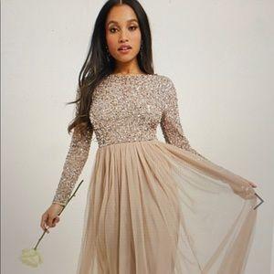 ASOS Maya Embellished Bridesmaid Gown